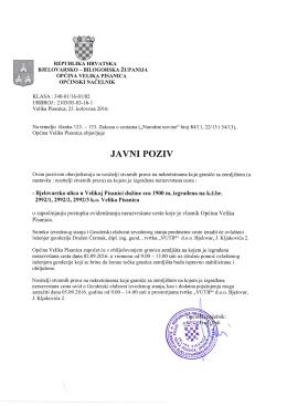 javnipoziy - Općina Velika Pisanica