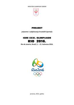 RIO 2016. - Hrvatski olimpijski odbor