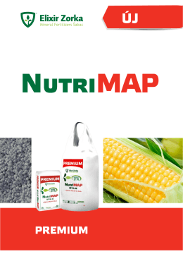 NutriMAP - Elixir Zorka