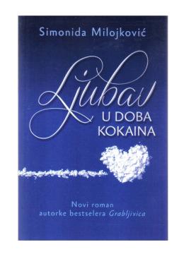 Simonida Milojković – Ljubav u doba kokaina