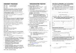 Program a prihláška na seminár RT - SEZ-KES