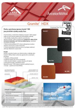 Granite® HDX - clara