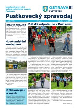 Pustkovecký zpravodaj 2/2016