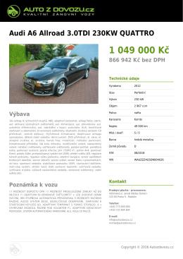 Uložit do PDF - Autozdovozu.cz