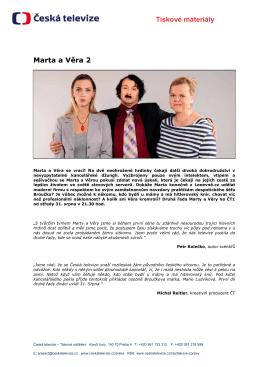 Tiskové materiály Marta a Věra 2