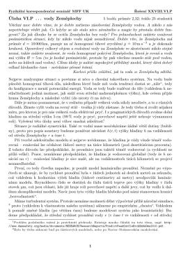 FYKOS, XXVIII.VI.6 vody Zeměplochy
