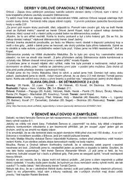 články v denících k utkáním 3. kola kp 20.-21.8.2016