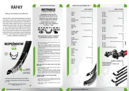 Katalog ráfků