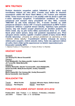 mfk trutnov - Ústí nad Orlicí