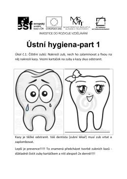 RAM CaS - Ústní hygiena