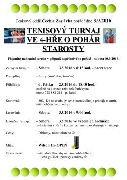pozvánce - Čechie Zastávka