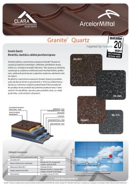 Granite® Quartz - clara