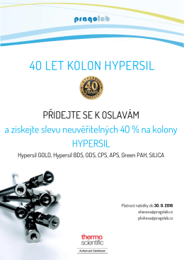 40 let kolon hypersil