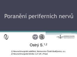 1) Neurochirurgické oddělení, Nemocnice České Budějovice, as 2
