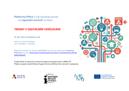 regionální seminář EPALE_19.10.2016_Pardubice