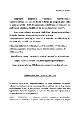 załączniku - Gdańsk Strefa Prestiżu