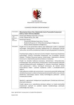 Szczegóły - Urząd Marszałkowski Województwa Kujawsko
