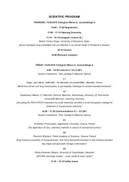 Plan konferencji PDF