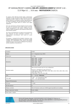 IP VANDALPROOF CAMERA DH-IPC-HDBW81200EP-Z
