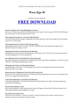WWW PGW PL - MAIN   Book PDF