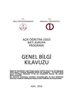 Okuyunuz - Anadolu Üniversitesi
