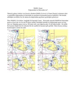 Midilli, Sisam Doğusundan mı Batısından mı? Tekneyle güneye