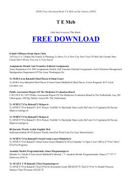 TE MEB   Book PDF