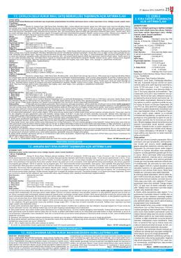 tc çorlu 2. icra dairesi taşınmazın açık artırma ilanı tc çatalca (sulh