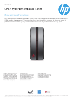 PC Consumer EMEA Desktop features 3C16