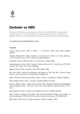 Darbeler ve ABD - Al Jazeera Turk