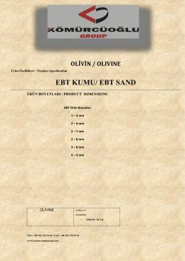 EBT KUMU/ EBT SAND