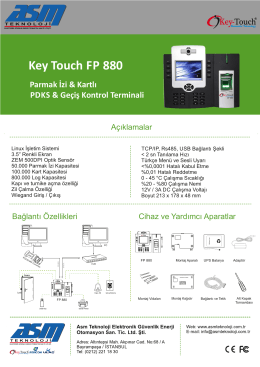 Key Touch FP 880
