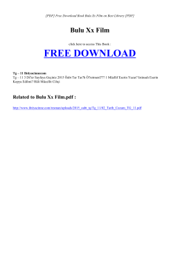 BULU XX FILM | Free eBook PDF