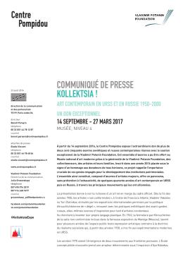 Communiqué de presse (PDF - 142.90 kB)