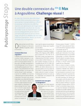 Une double connexion du R Max à Angoulême. Challenge