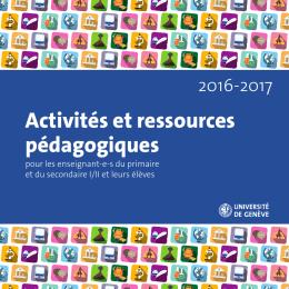 Activités et ressources pédagogiques