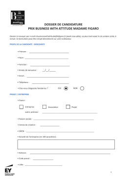 dossier de candidature prix business with attitude