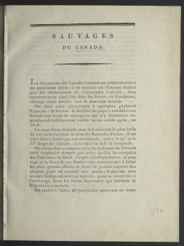 sauvages - Collections