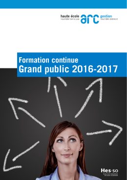 Grand public 2016-2017 - Haute