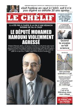 Le Chélif 141