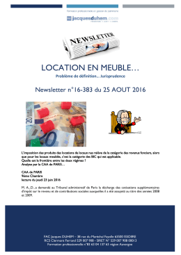 location en meuble… - Jacques Duhem – Formation Gestion de