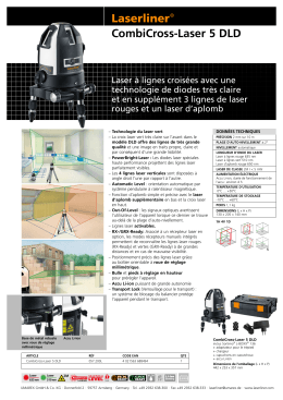 CombiCross-Laser 5 DLD