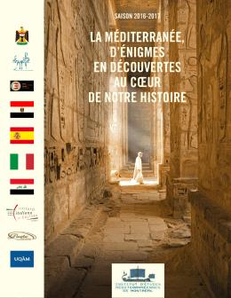 programme de la saison - IEMM, Institut d`Études Méditerranéennes