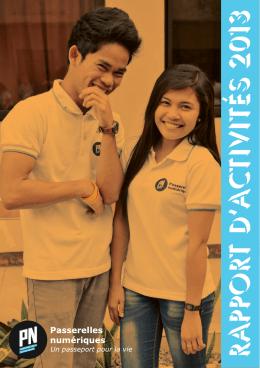 rapport d`activités 2013