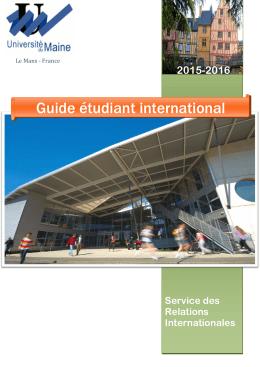Téléchargez le guide de l`étudiant international 2015/2016