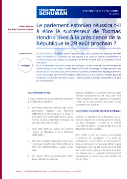 Télécharger/imprimer l`étude au format PDF