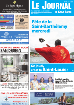 1195 - Journal de Saint Barth