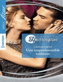 Une impardonnable trahison (Le secret des Harrington t. 5)