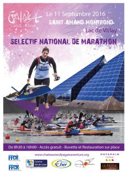 Invitation_SN Marathon_Saint Amand Montrond
