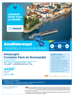 AmaWaterways!